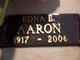Profile photo:  Edna Earle <I>Moore</I> Aaron