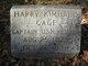 Harry Kimball Cage