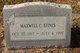 Profile photo:  Maxwell C. Stines