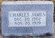 Profile photo:  Charles James