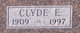 Clyde E Hudecek