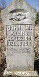 Profile photo:  John M Ayers