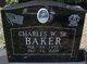 Charles William Baker, Sr