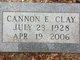 Profile photo:  Cannon Clay