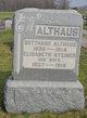 Elizabeth <I>Steiner</I> Althaus