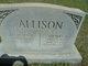 Florence F. <I>Wilkerson</I> Allison