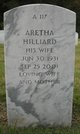 Profile photo:  Aretha Hilliard