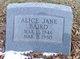 Alice Jane Baird