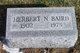 Herbert N Baird