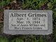 Albert Grimes