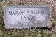 Marion Atwood <I>Marsh</I> Lanza