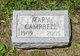 Mary Edith Campbell