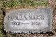Noble A. Marsh