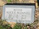 Alice E. <I>Mitchell</I> McDaniel