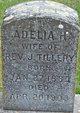 Profile photo:  Adelia H. Tillery