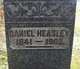 Profile photo:  Daniel Heasley