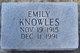 Profile photo:  Emily Knowles