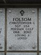 "Christopher Lee ""Chris"" Folsom"