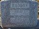 Ethel Lenora <I>McKitrick</I> Haddon