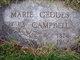 "Marie Amanda ""Mary"" <I>Geddes</I> Campbell"