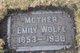 Profile photo:  Emily <I>Patterson</I> Wolfe