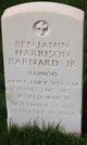 Benjamin Harrison Barnard, Jr