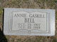 Profile photo:  Annie Gaskill Bell