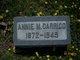 Annie May <I>Rouse</I> Carrico