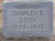 "Profile photo:  Charles Edward ""Charley"" Coon"