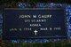 John M Gaupp