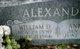 Profile photo:  William D Alexander