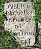 Profile photo:  Albert Nicholson