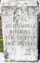 Profile photo:  James Hoyle Robbins