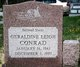 Geraldine L <I>Swecker</I> Conrad