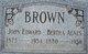 Bertha Agnes <I>Hartzel</I> Brown