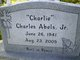 "Profile photo:  Charles Andrew ""Charlie"" Abels, Jr"