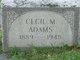 Profile photo:  Cecil Mae Adams