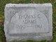 Profile photo:  Thomas Caroll Adams