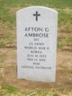 Profile photo:  Afton Gerald Ambrose