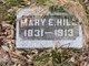 Mary E Hill