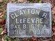 Clayton R Lefevre