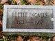 """Charlotte J """"Lottie"""" <I>Wakefield</I> Ingalls"""