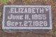 Profile photo:  Elizabeth <I>Pachel</I> Dittmar