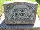 Jennie L Busby