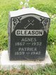 Profile photo:  Agnes Gleason