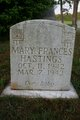 Mary Frances Hastings