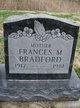 Profile photo:  Frances M. <I>Ward</I> Bradford