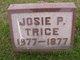 Josie P Trice