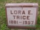 Lora Evelle <I>Snider</I> Trice