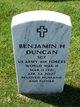Benjamin H Duncan